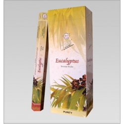 6 pakjes Eucalyptus wierook (Flute)