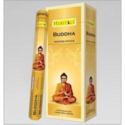 6 pakjes Heritage Budda wierook (Flute)