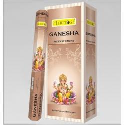 6 pakjes Heritage Ganesha wierook (Flute)