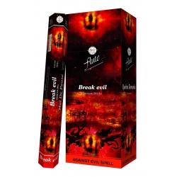 6 pakjes Break Evil wierook (Flute)