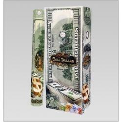 6 pakjes Call Dollar wierook (Flute)
