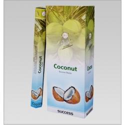 6 pakjes Coconut wierook (Flute)