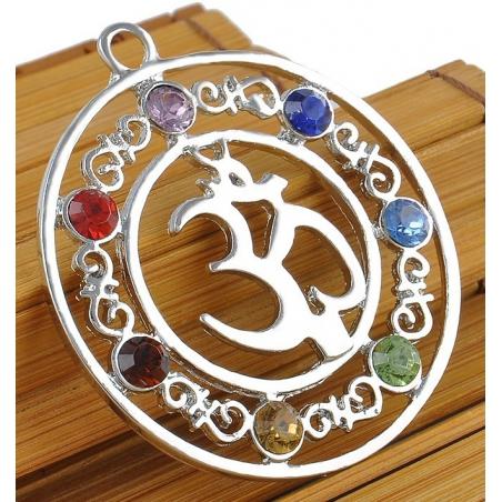 7 chakra OHM symbool hanger