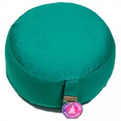 Meditatiekussen groen bio katoen (8053)