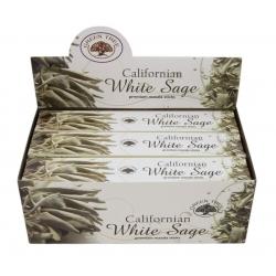 12 packs Californian White sage incense (Green tree)