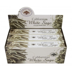 12 pakjes Californian White sage wierook (Green tree)