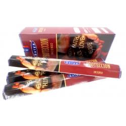6 pakjes Satya Protection wierook (Satya hexa serie)