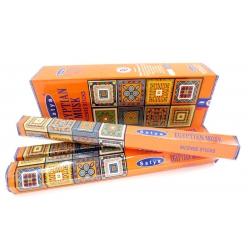6 pakjes Satya Egyptian Musk wierook (Satya hexa serie)