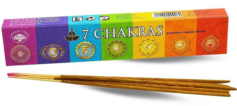 7 Chakra`s wierook 15gr (Green tree)