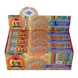 12 Packungen Vajrayana buddhistische Tantra Weihrauch (Greentree)