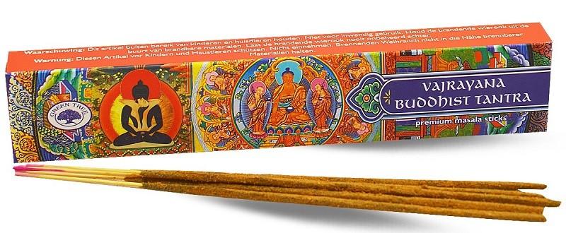 Vajrayana Buddhist Tantra wierook 15gr (Green tree)
