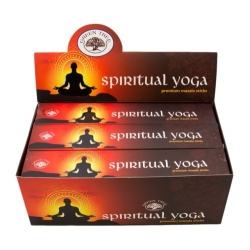 12 pakjes Spiritual Yoga wierook (Green tree)