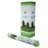 6 pakjes Cannabis wierook (Green Tree)