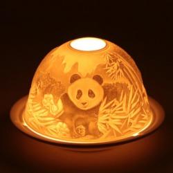 Sfeerlicht theelichthouder Panda's