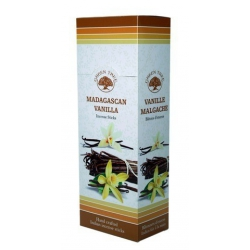 6 pakjes Madagascan Vanilla wierook (Green Tree)
