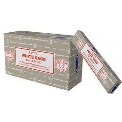 12 pakjes White Sage wierook (Satya)