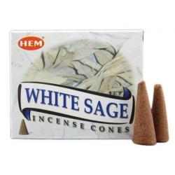 White Sage (salie) Kegelwierook (HEM)