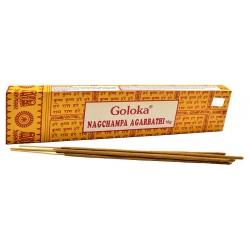 GOLOKA Nagchampa Agarbathi wierook (16 gr)