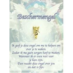 Dierbare Engel - Beschermengel (gold)