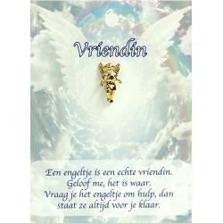 Dierbare Engel - Vriendin (gold)