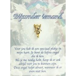 Dierbare Engel - Bijzonder iemand (goudkleurig)
