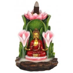 Kleurrijk Boeddha Backflow wierookbrander