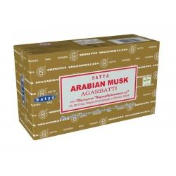 12 pakjes Arabian Musk wierook (Satya)