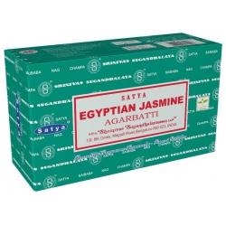 12 pakjes Egyptian Jasmine wierook (Satya)
