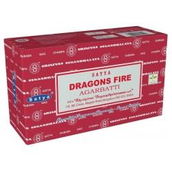12 pakjes Dragons Fire wierook (Satya)