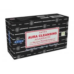 12 pakjes Aura Cleansing wierook (Satya)