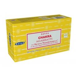 12 pakjes Chakra wierook (Satya)
