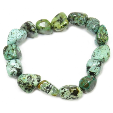 Turquoise bracelet (tumbled stones)