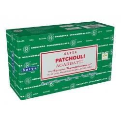 12 pakjes Patchouli wierook (Satya GT)