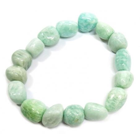 Amazonite bracelet (tumbled stones)