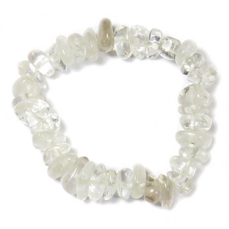 Rock crystal bracelet (tumbled stones)