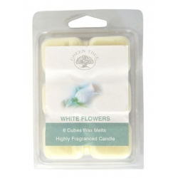 White Flowers Wax Melts