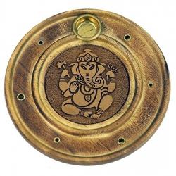 Wierook en kegeltjes brander Ganesh