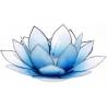 Lotus Kaarsenbrander - Lichtblauw