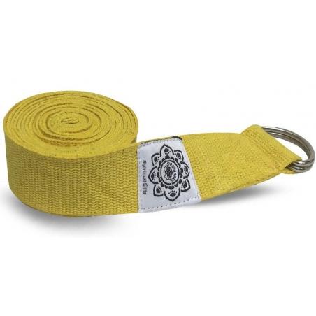 Yoga belt yellow