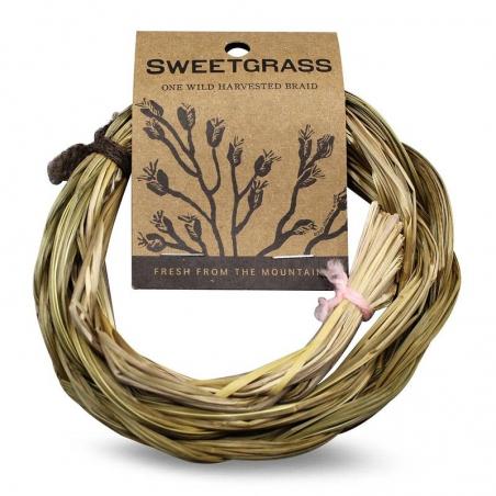 Sweetgrass braid Green tree Juniper Ridge