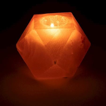 Salt crystal atmospheric light diamond
