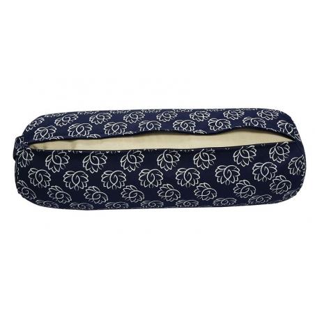Bolster Lotus navy blue 5