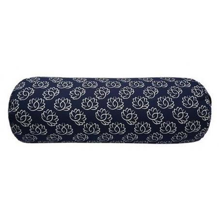 Bolster Lotus navy blue 4