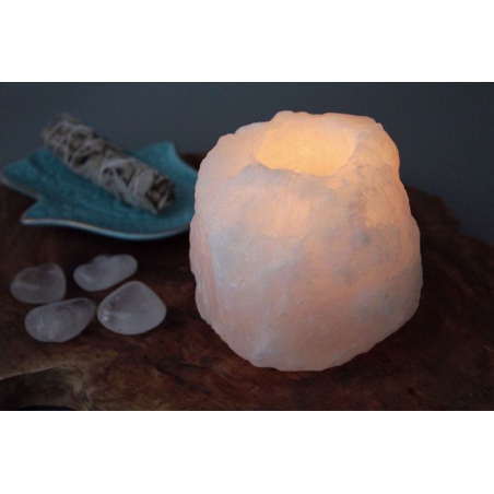 Salt crystal atmospheric white