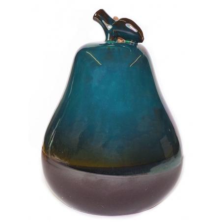 Peervorm backflow wierookbrander blauw 2