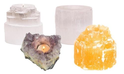 Lumières d'ambiance de pierres précieuses