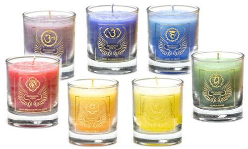 Archangel votive candles