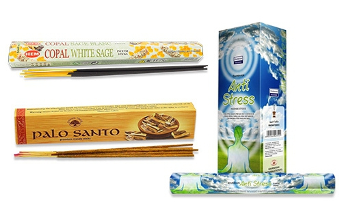 Incense sticks per package